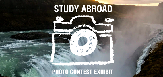 UMD Study Abroad Photo Contest Exhibit Logo